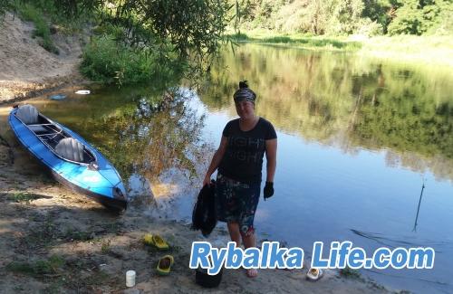 Моя рыбачка))
